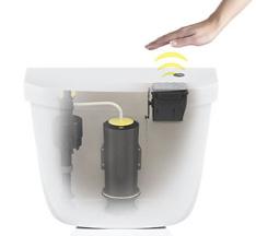 Touchless Toilet Flush Button