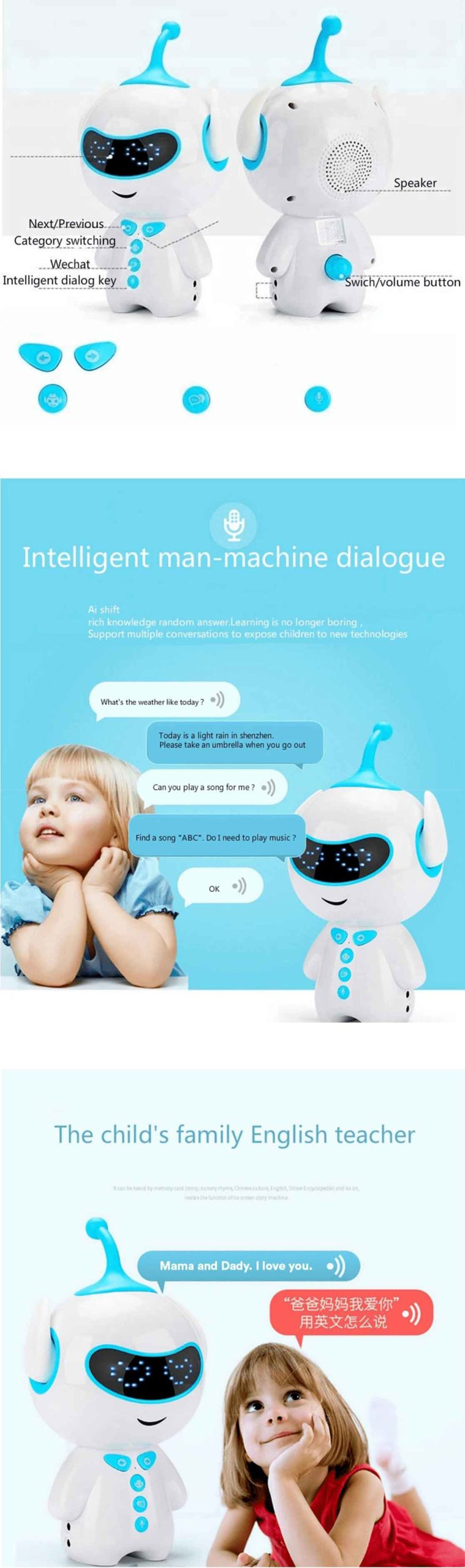 Smart Story Teller And Language Learning Machine
